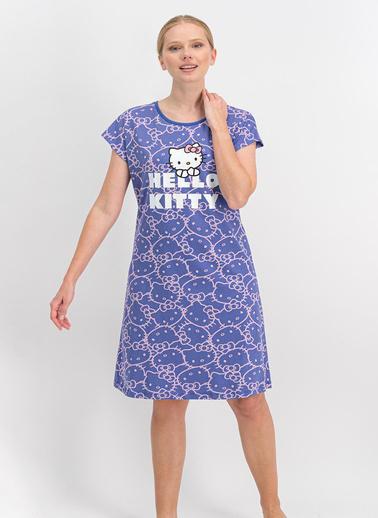 Hello Kitty Gecelik Mor